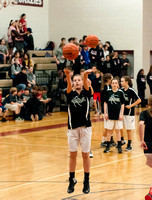 20160129 LMMS BB 7th Grade Girls vs NFMS-13